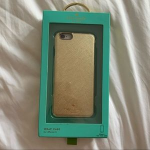Kate Spade iPhone 6 Case - GOLD